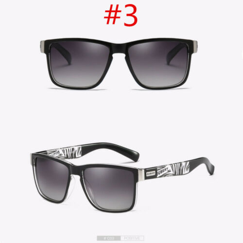 DUBERY Polarized Sunglasses Women Men Square Cycling Driving Fishing UV400