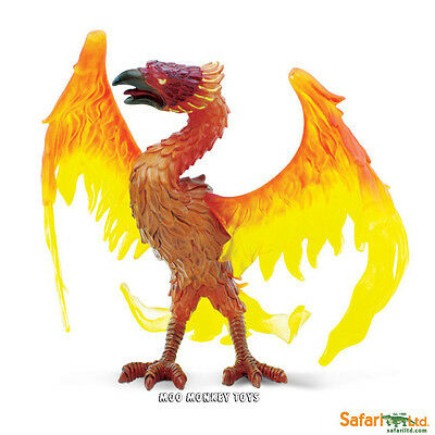 PHOENIX Greek Mythology Safari, Ltd. Mythical Realms #801329 fiery Bird  NEW