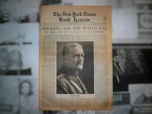 New York Times Review General Pershing April 23rd 1931