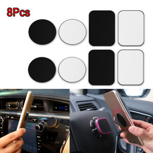 8-Metal-Plate-Sticker-Replace-For-Magnetic-Car-Mount-Magnet-Cell-Phones-Holder