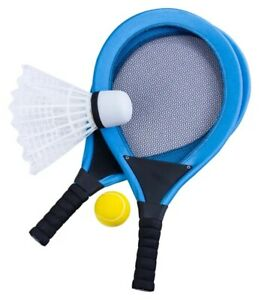 Jumbo-Tennis-Racket-Badminton-Set-Beach-Garden-Outdoor-Kids-Sport-Game-Fun-Toy