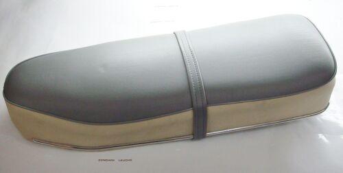 Zündapp Sitzbank Grau Weiß Faconette KS 100 Typ 514
