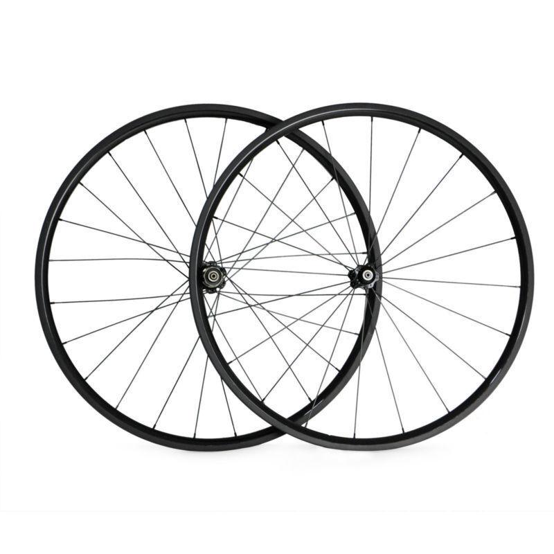 700C 24mm Clincher Road Bike Bicycle Bike 3K Carbon Fiber Wheels Carbon Wheelset