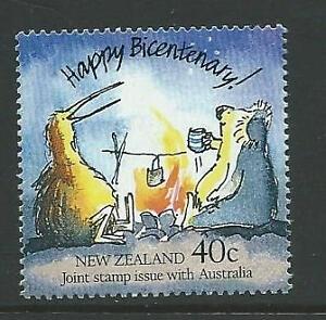 New Zealand Sg1474 1988 Australian Colonies Neuf Sans Charnière-afficher Le Titre D'origine Facile Et Simple à Manipuler