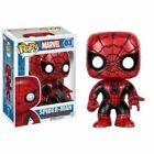 Funko Pop Marvel Spider-man Red and Black Vinyl Figure Nr 03