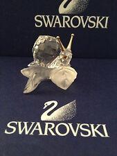 SWAROVSKI FIGUR SCHNECKE AUF BLATT  ((( TOP ZUSTAND )))