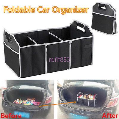 Suv Cargo Organizer >> Car Trunk Storage Box Suv Cargo Organizer Multi Purpose Foldable Tool Case Bag 712345543509 Ebay