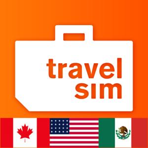 TravelSim Prepaid Daten Sim-Karte für die USA, Mexiko ...