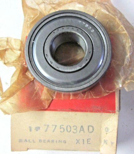 "Bore=5//8/"" Diameter=40mm Width=12mm NDH Delco 77503-AD USA Shielded Ball Bearing"