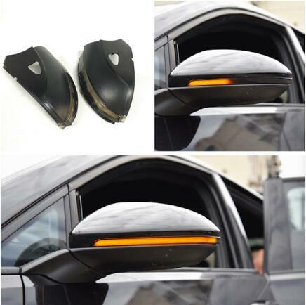 Smoked Flow RearView Side Mirror turn signal Light for VW Passat B7 CC Jetta MK6