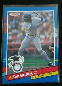 Donruss 91 Ken Griffey Jr Baseball All-Star Error Card( No . After Inc ) Mint*