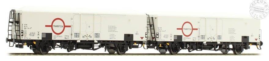 ACME 45078 SET due CARRI REFRIGERANTI FS  TRANSFESA  - Ep. IV/V