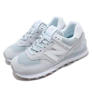 New Balance 574 Grey White Light Blue
