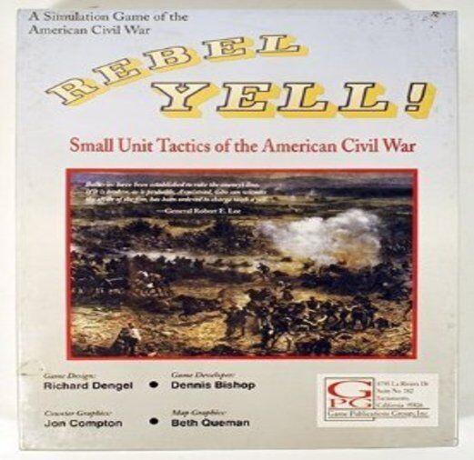 REBEL YELL  SMALL UNIT TACTICS OF THE AMERICAN CIVIL WAR - GPG INC - NEW