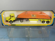 Corgi Toys Modelo No.1102 grúa Fruehauf inferior Volquete con Berliet Cab unidad MIB