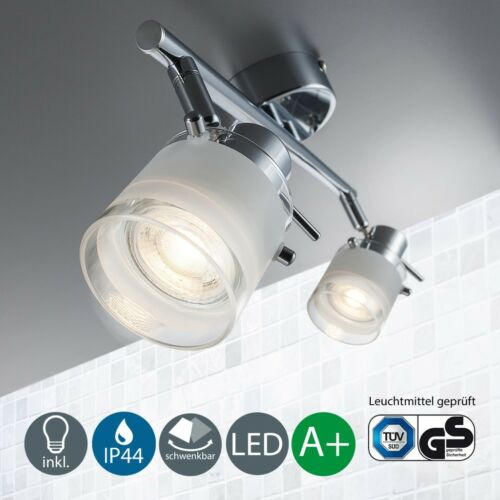 LED Decken-Lampe Badezimmer-Leuchte IP44 Badlampe Spot-Strahler GU10 Wohnzimmer