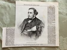 a2h ephemera 1863 picture john pender esq m p for totnes