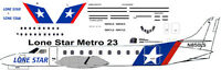 Lone Star Metro 23 Decals For Contrails 1/144 Kits