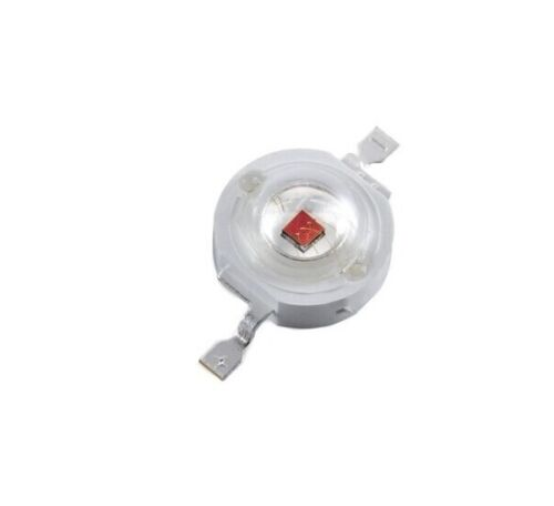 20PCS 1W Red Led Chip High Power LED Beads 50LM Red NEW
