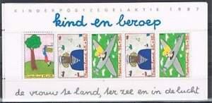 Nederland-plaatfout-postfris-1390PM1-MNH-blok