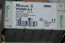 EATON MOELLER PKZM0-0,4 PKZM 0-0,4 MOTORSCHUTZSCHALTER 0,25...0,4 A SCHALTER NEU