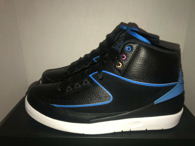 los angeles 573cb fc274 Nike Jordan Retro 2 Radio Raheem Men s Size 12 15 DS 834274 014