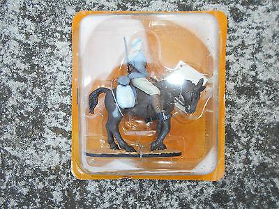 Apprensivo Soldatino Cavallo Fante Montato Esercito Sceriffiano Del Prado Cbh 032