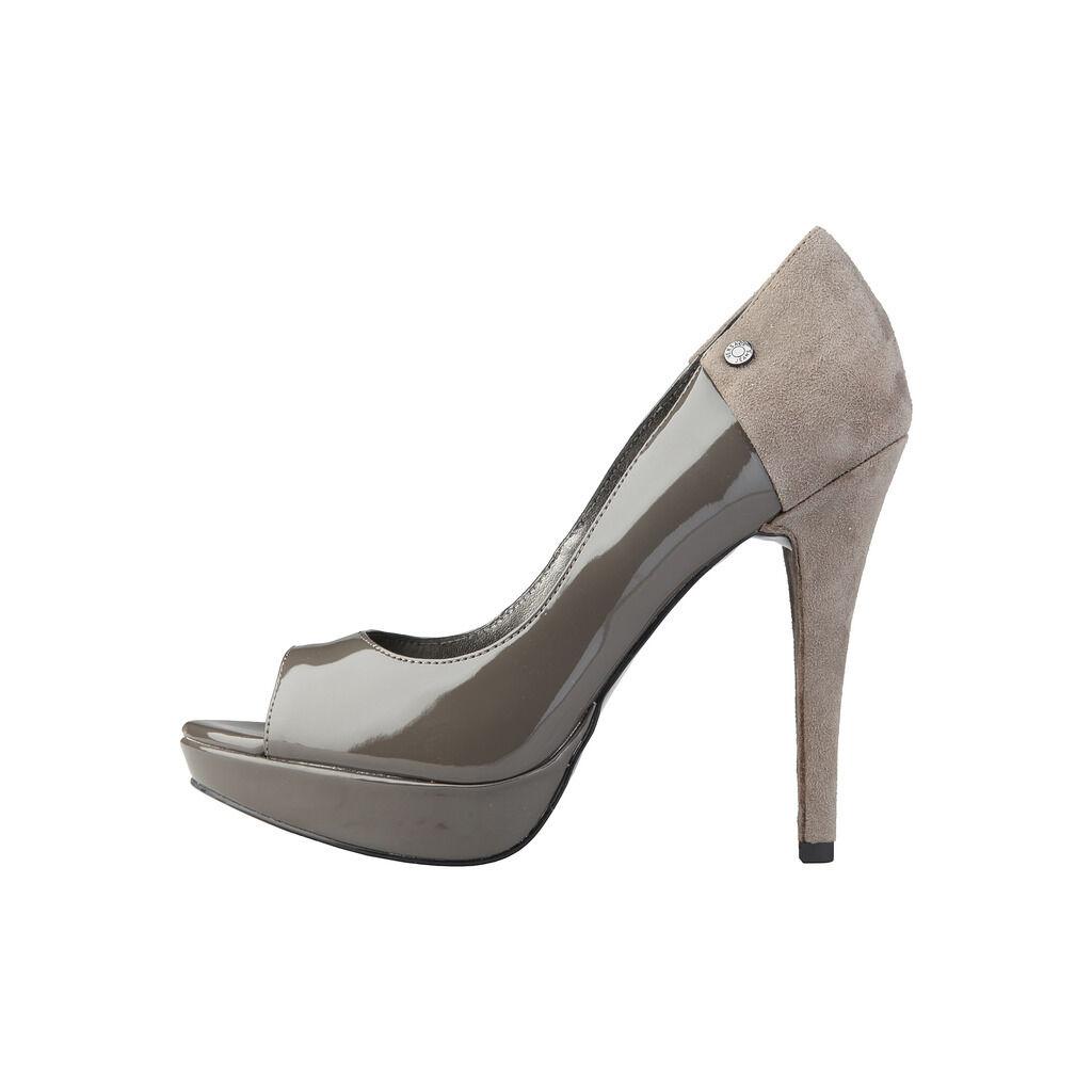 Neu High Heels Versace Jeans Grau Pumps Highheels Gr 37 Schuhe