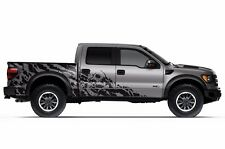 Vinyl Decal Nightmare Wrap Kit for Ford F-150 Raptor SVT 2010-2014 Matte Black