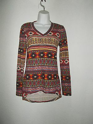 Red Southwest design top New with tags (S) Women's  (SHIPS FREE)