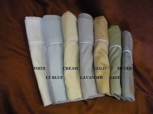 Futon and Sofa Bed Sheet sets 300Thread Count 12 colors available