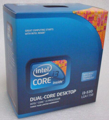 Intel BX80616I3530 SLBLR Core i3-530  4M Cache 2.93 GHz LGA1156 New Retail Box