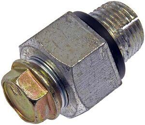 Oil Drain Plug Piggyback 5 8 18 S O Head Size 15 16 In