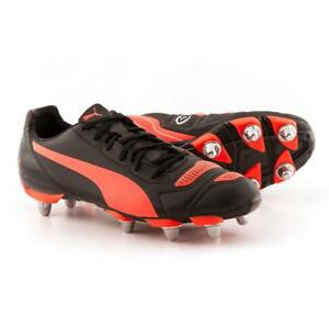 black puma rugby boots
