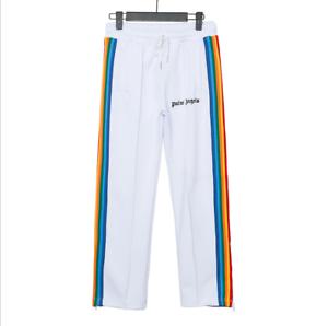 2020 Unisex PALM ANGELS Leisure Trousers Women Side Striped Webbing Sport Pants