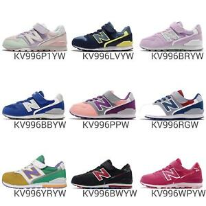 finest selection bc9f3 46f37 Image is loading New-Balance-KV996-W-Wide-996-Youth-Kids-
