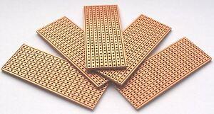 5-x-Vero-Style-PCB-Stripboard-25-x-64mm-strip-board-New