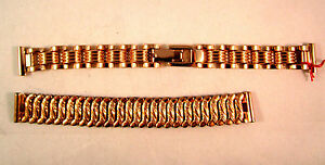 Swiss-Made-Stainless-Steel-Strap-Band-Clasp-For-Watches-15-cm-width-X2