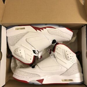 the latest 11cf0 3909d Image is loading Nike-Air-Jordan-Son-of-Mars-Fire-Red-