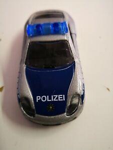 PORSCHE-996-polizia-Argento-Blu-1-57-di-MAJORETTE-ref-n-209-1-DA-COLLEZIONE