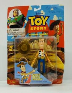 Think Way Toys - Toy Story Woody Quick Draw Action Figure Disney