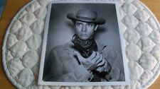 1960's The Virginian photo Bradford Dillman Echo from Another Day info on back