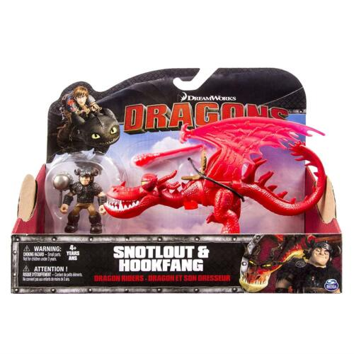 How to Train Your Dragon Rustik et Krokfer figures