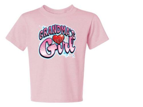 GRANDMA/'S GIRL With  Heart Kids T-Shirt JERZEES Size 6 Months To 18-20 The Best