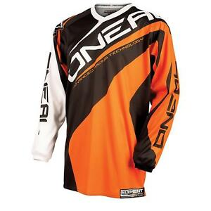 ONEAL-Element-Jersey-Maglia-Arancione-MOTO-CROSS-MOUNTAIN-BIKE-FREERIDE-MTB-MX-Camicia