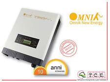 Inverter fotovoltaico  OMNIKSOL 1.0 K-TL2 1 kW  10 anni garanzia - OMNIK