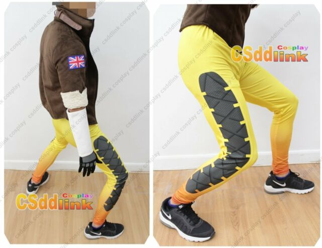 OVERWATCH Tracer Fanart Cosplay Costume Only yellow pants