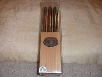 Laguiole Steak Knife Set (6) With Storage Block For Williams & Sonoma Stain