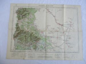 Ancienne Carte De France Ballon D'alsace Service GÉographique De L'armÉe 1910 Mbje6za5-07225349-868949879