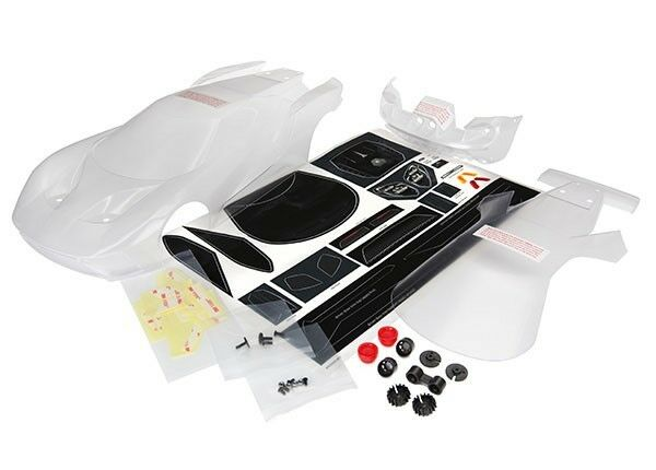 Traxxas Ford GT Clear Body - TRA8311